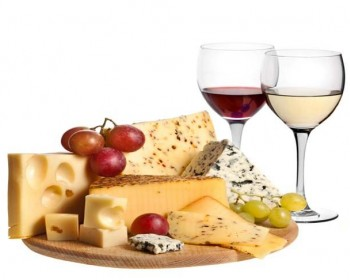 wine and chesse